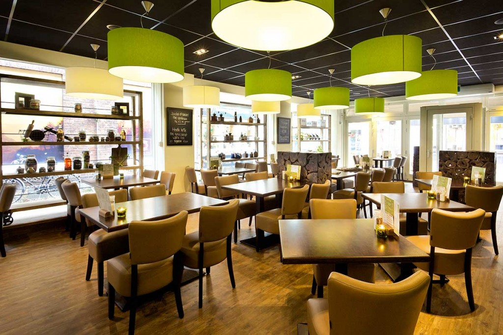 Impressie brasserie dichtbij for Interieur amersfoort